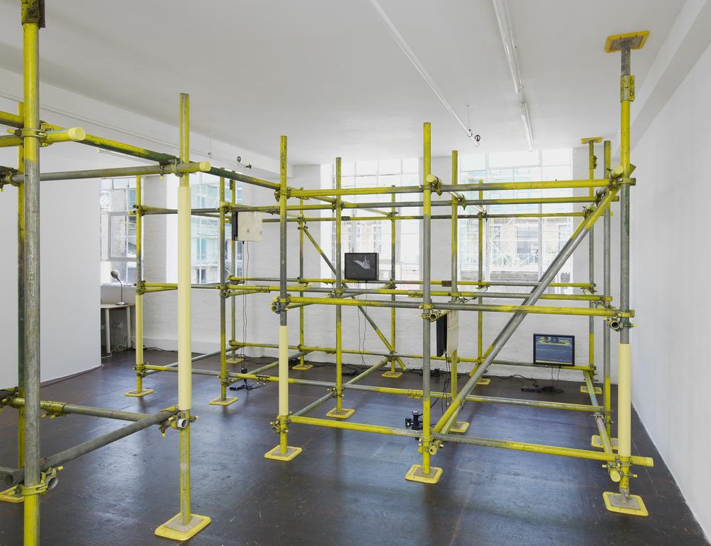 Drift Diagram XIII  Installation view Hollybush Gardens, London, 2012