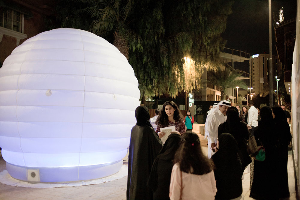 Dreams' Time Capsule project, Al Riwaq Contemporary Art Space, Manama, Bahrain, 2014