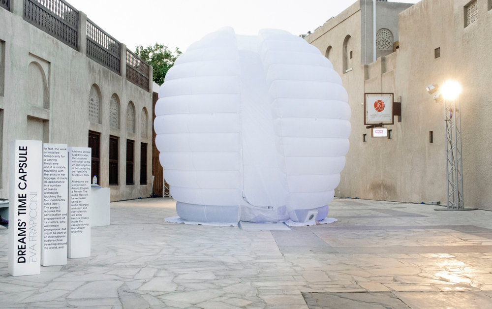 Dreams' Time Capsule project, Sikka Art Fair, Dubai, United Arab Emirates, 2016