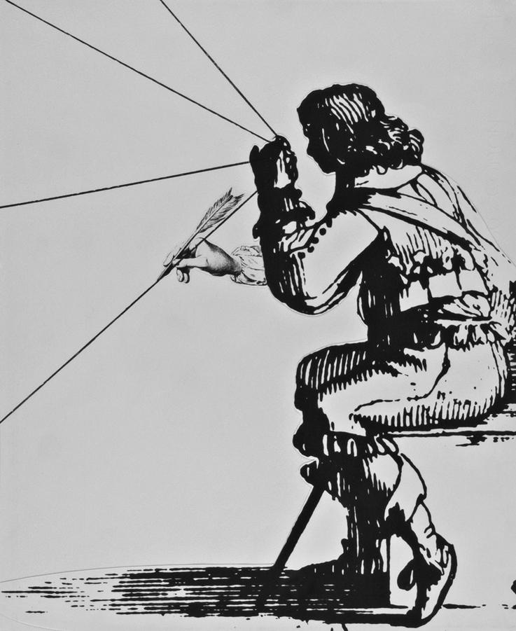 Giulio Paolini,  senza titolo , 1984. Galleria civica di Modena