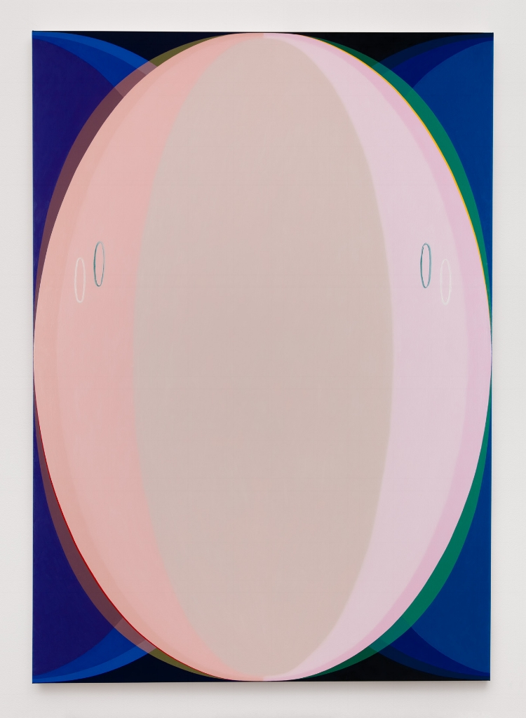 An Appearance, Pink, 2016, Oil on canvas, 96 x 68 inches, Courtesy Brennan & Griffin