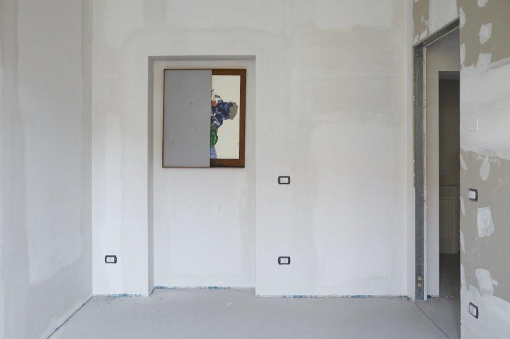 Diego Miguel Mirabella, Installation view, FuturDome Milano, August 2016, ph. Floriana Giacinti