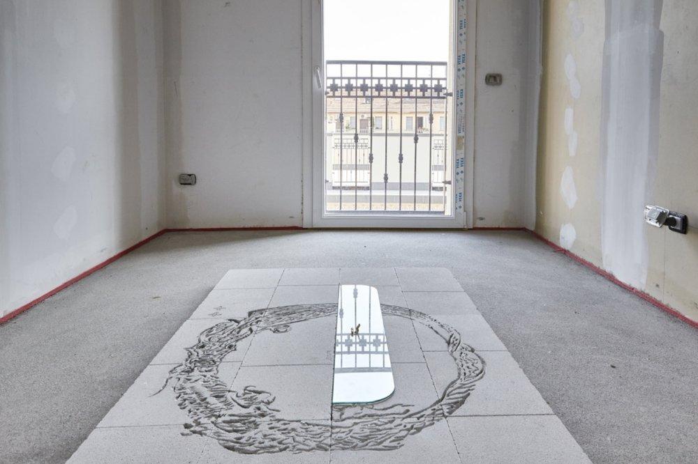 Alessandro di Pietro, Installation view, FuturDome Milano, August 2016, ph. Floriana Giacinti