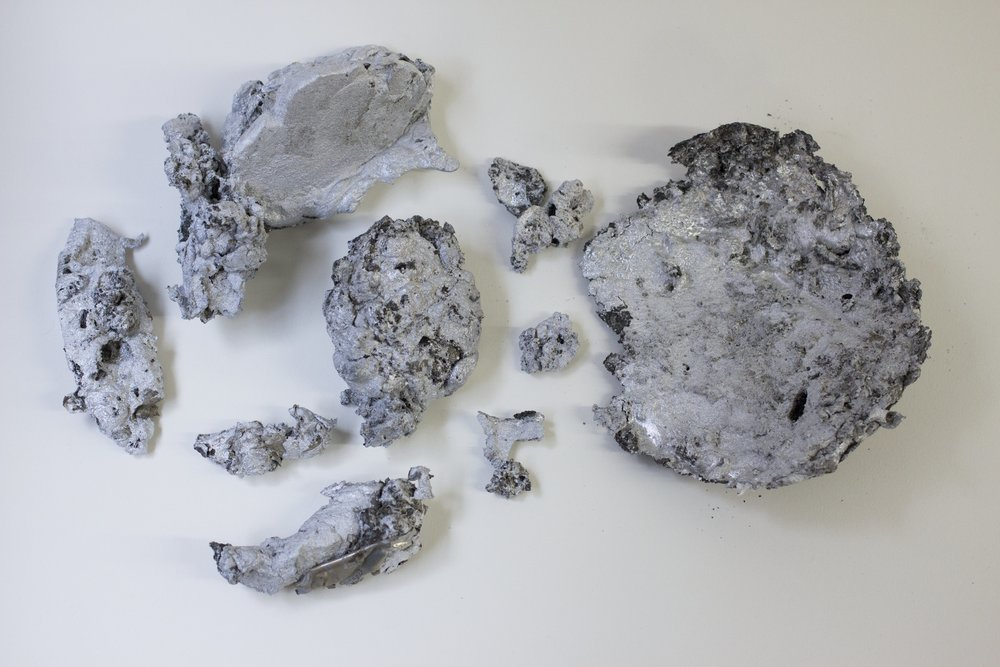 All the aluminum from the end of May, June and early July,  2015, forged aluminum.