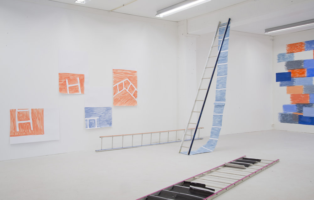 'Project Space', 2014, Installation view at Prosjektrom Normanns, Stavanger
