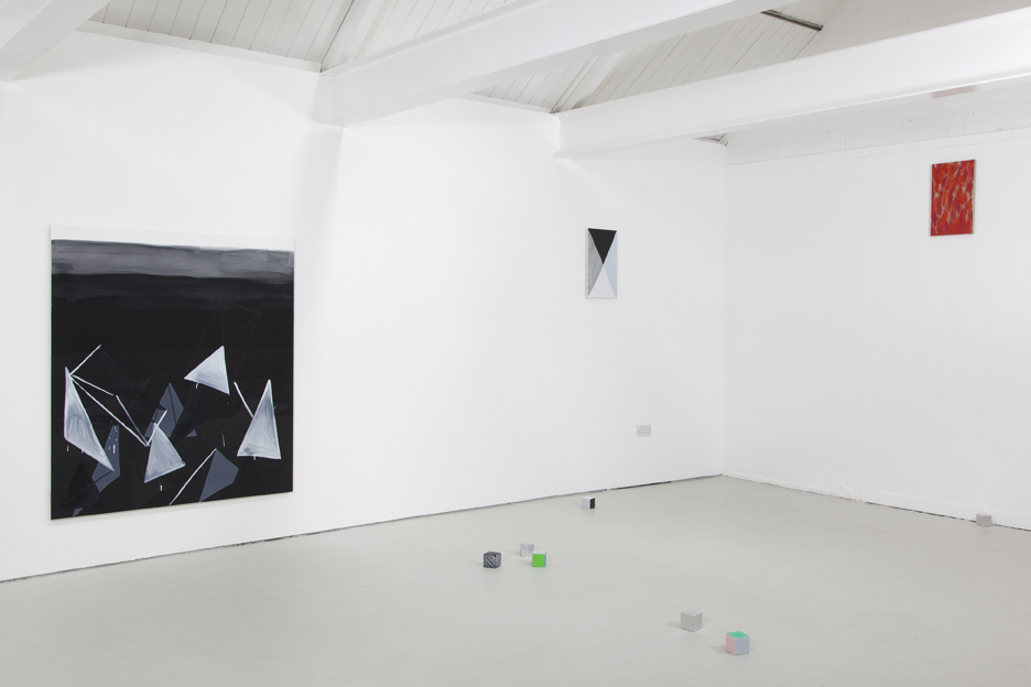 'struc////', 2015, Installation view at OUTPOST, Norwich