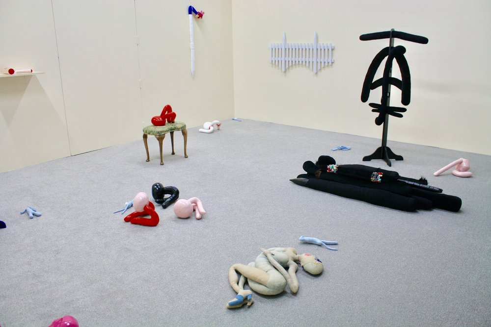Damaged Gods, installation view at Arcadia Missa