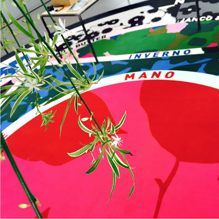 Flower Landscape (curated by Maria Luisa Frisa), installation / set-design, Casa Zegna, Trivero, 2015