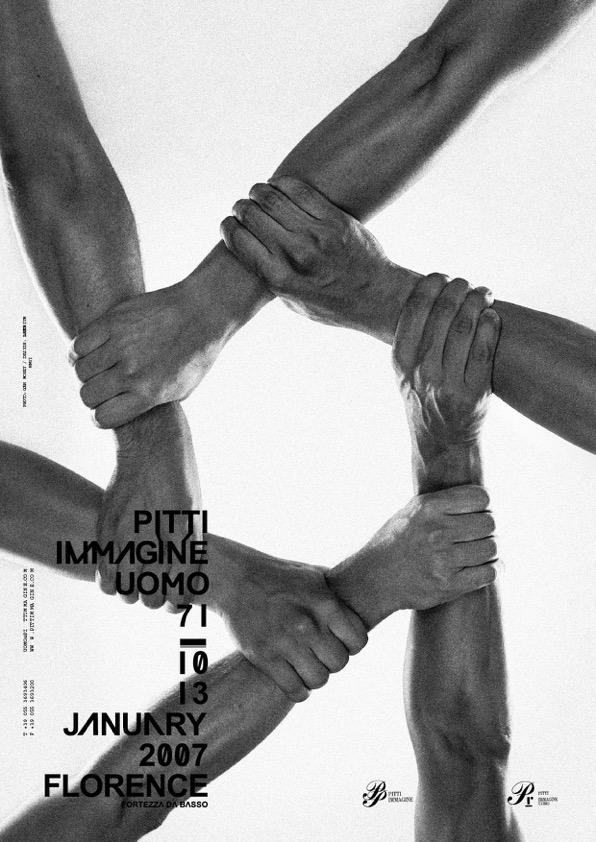 Pitti Immagine Uomo adv winter, 2006