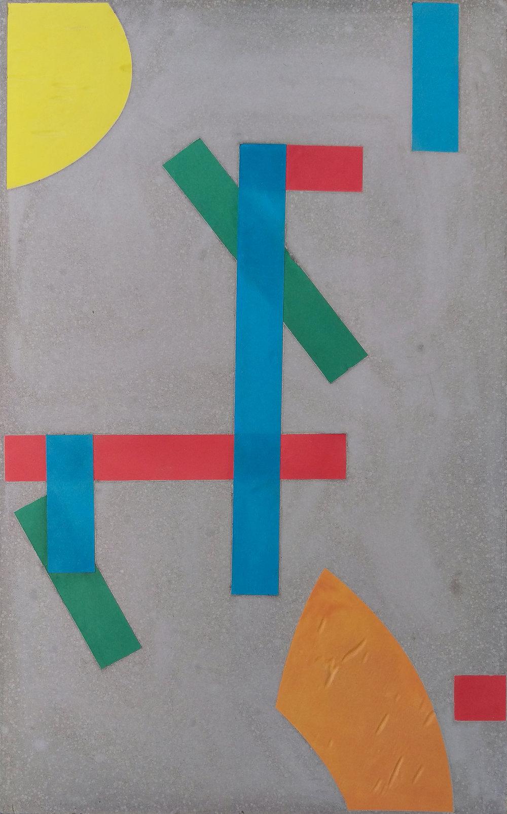 Transcription [dada rhapsody on gray], series, 2014