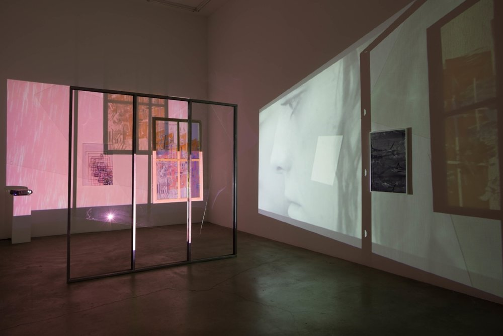 Kush is My Cologne, Jibade-Khalil Huffman, installation view at Anat Ebgi