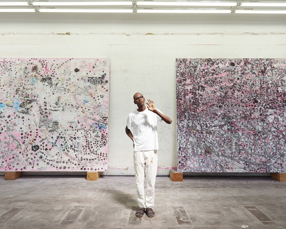 Mark Bradford, 2015, Color photograph, 16 x 20 inches