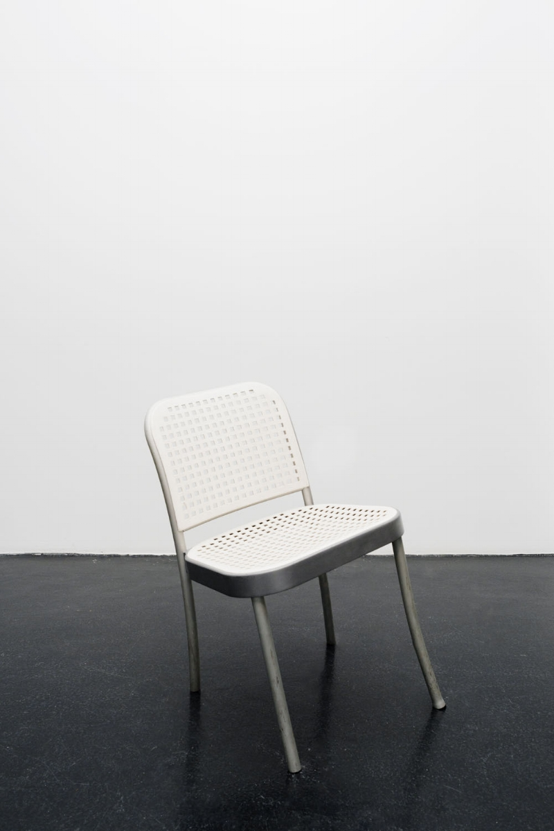 London Chair, 2017, modified gallery chair 74x37x45 cm