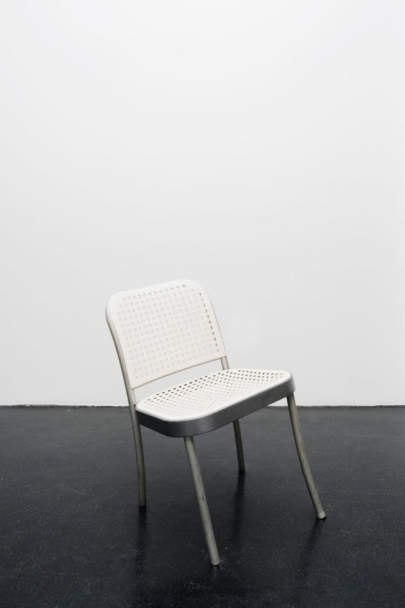 London Chair, 2017, modified gallery chair 74x37x45 cm