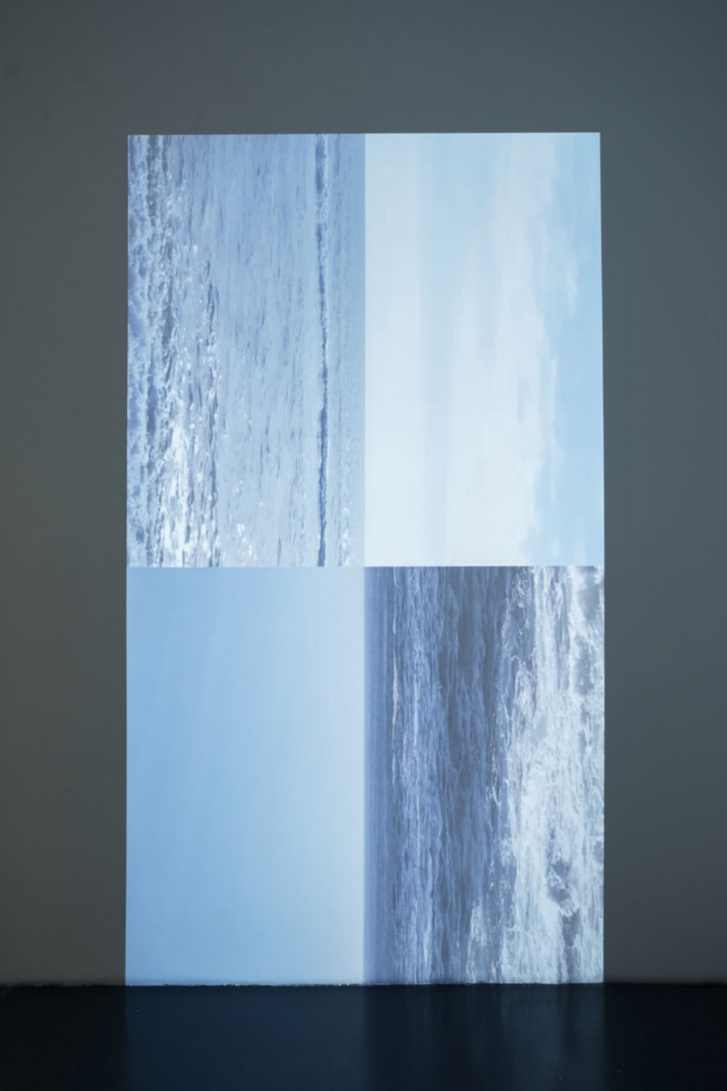 Vertical Horizon, 2016, sigle channel film (10min loop)