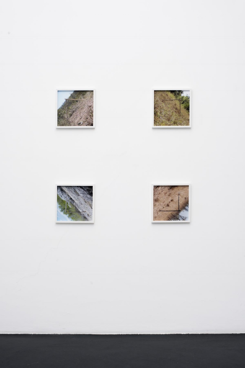 We are all Astronauts, 2015, C-type prints (edition of 5 + 2AP) 4 framed photos each 32 x 32cm