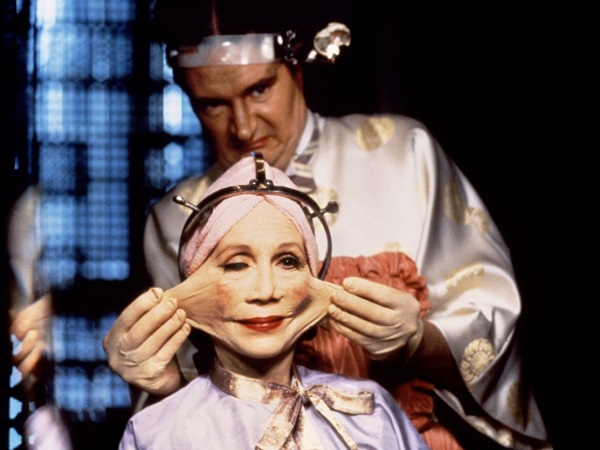 Title: Brazil  Director: Terry Gilliam  Year: 1985  Track:  Brazil (Geoff   Mudal  )