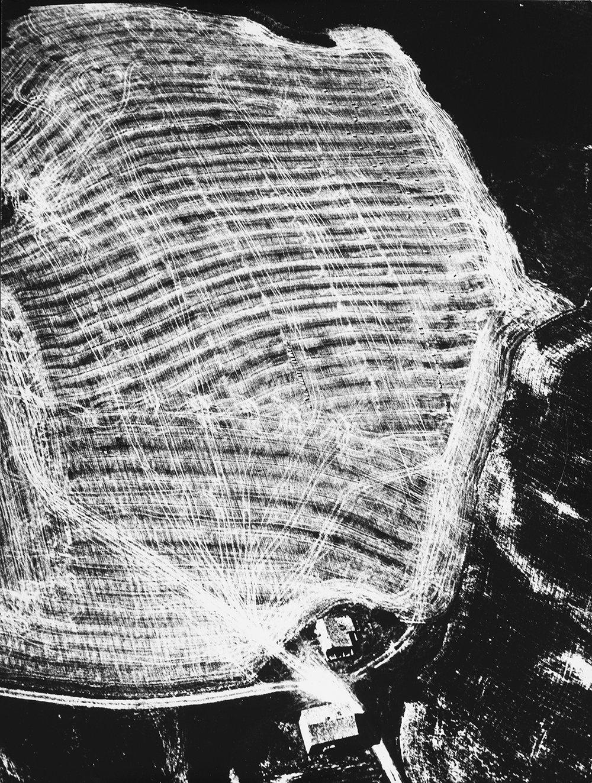 Mario Giacomelli, Presa di coscienza sulla natura (1976 _ 80). Courtesy Archivio Mario Giacomelli – Rita Giacomelli