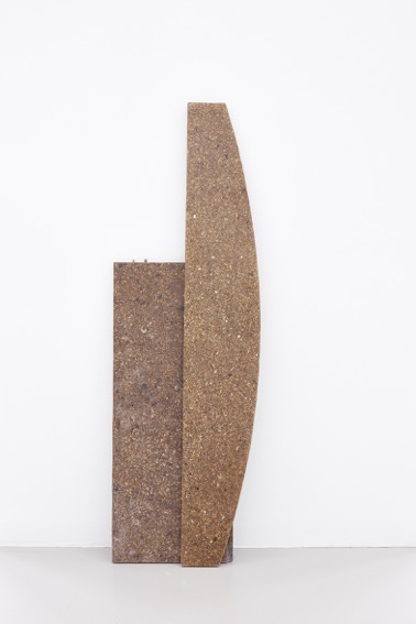 Sofia Hulten,  Particle Boredom  , 2016, wood, 2-component epoxy resin, two units: 125 x 20 x 5 cm and 95 x 35 x 5 cm