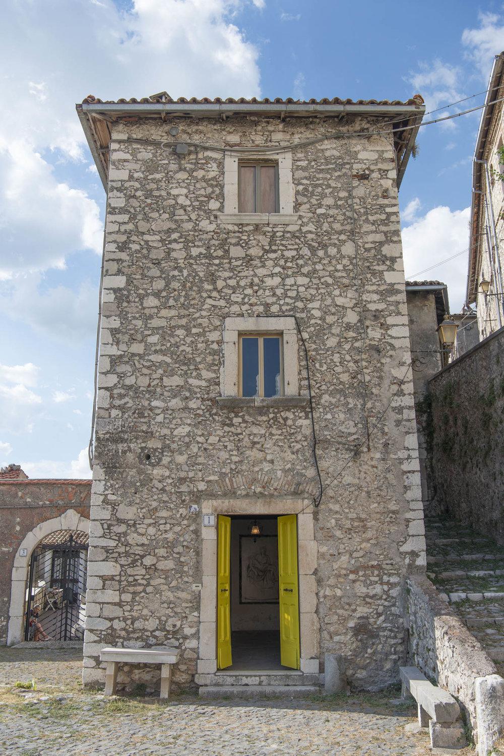 Pereto, Palazzo Iannucci