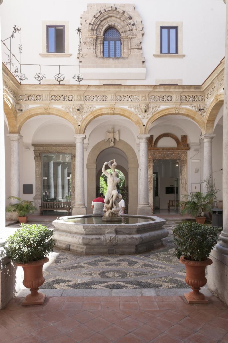 Cloister, Salinas Museum, ph Iole Carollo