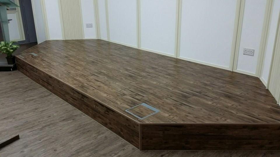 NBL Premium Resilient Vinyl Flooring Stage Wrapping NBL 73 Flooring NBL 72