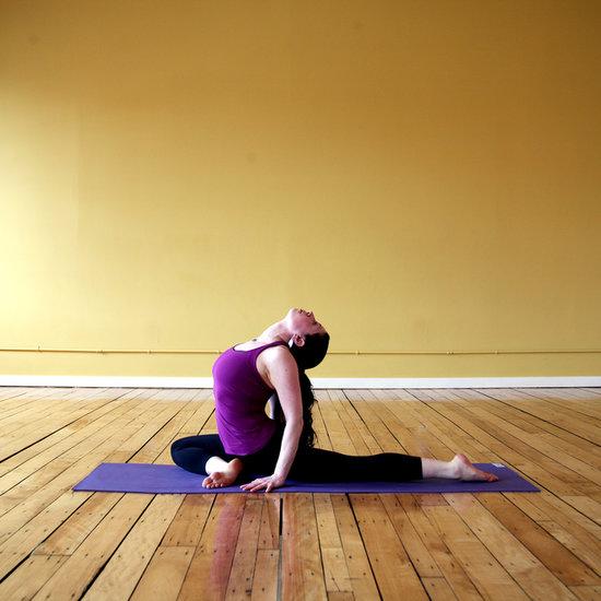 Anna Stretching