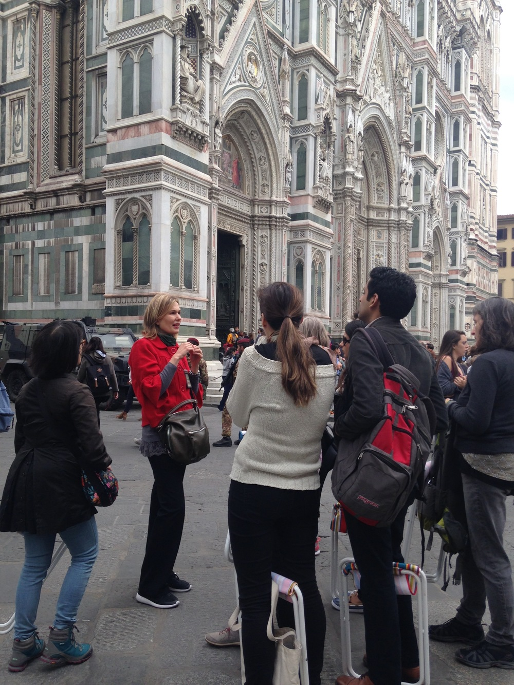Guided tour of Florence with Costanza, our historian!