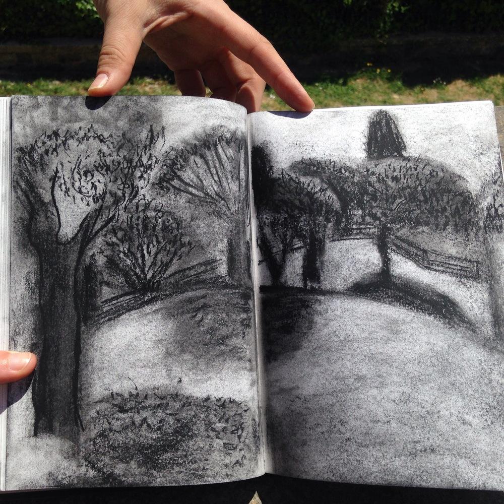 Drawing by Gayatri Mohan