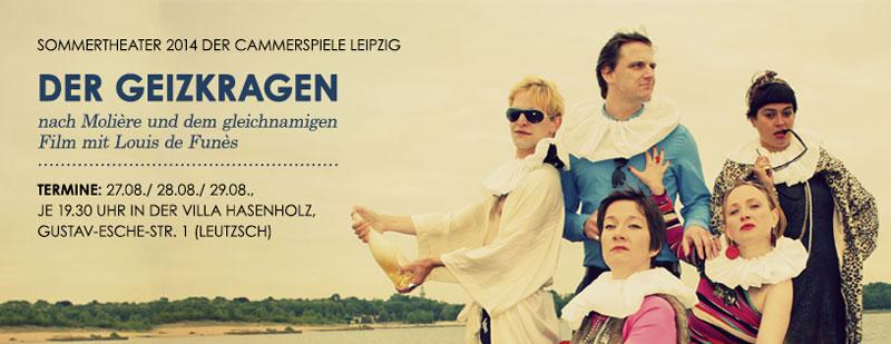Sommertheater 2014 der Cammerspiele Leipzig