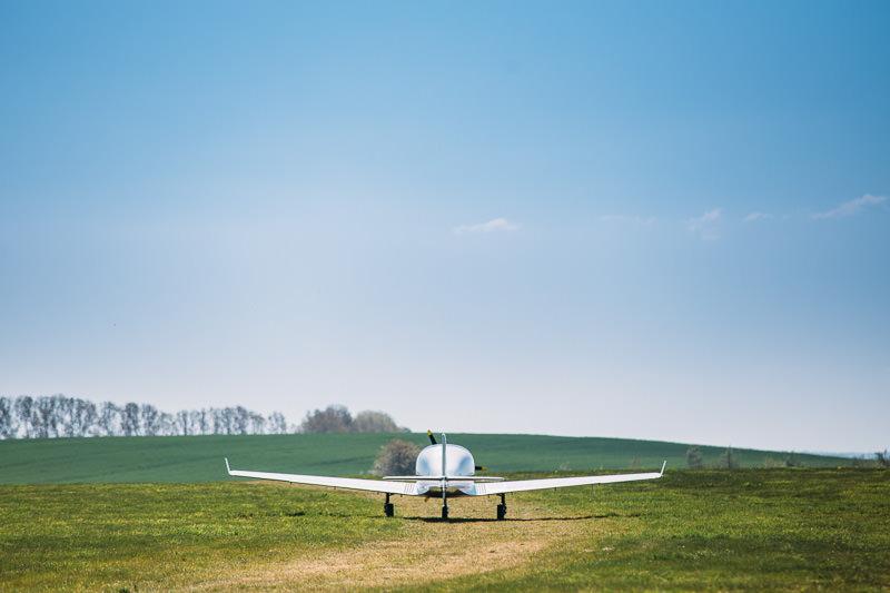 Steffen-Hubschrauberflug