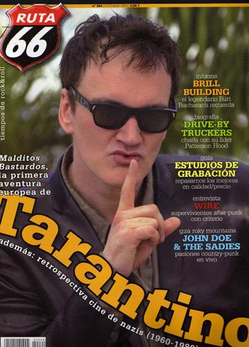 ruta66magazine,quentintarantinocover,brill building,john doe,sadies,wire, ruta 66