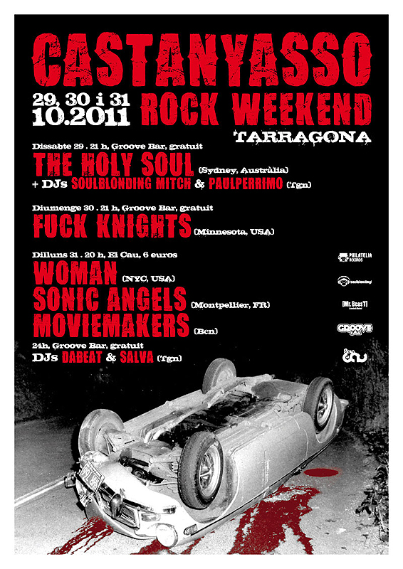 CASTANYASSO ROCK FESTIVAL THE HOLY SOUL WOMAN NYC TARRAGONA SPAIN