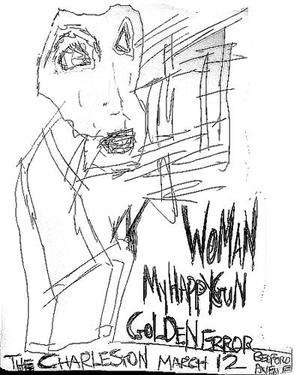 WOMAN / Golden Error / My Happy Gun