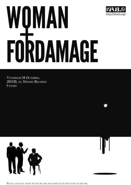 WOMAN NYC FORDAMAGE KFUEL MONDO BIZARRO RENNES FRANCE