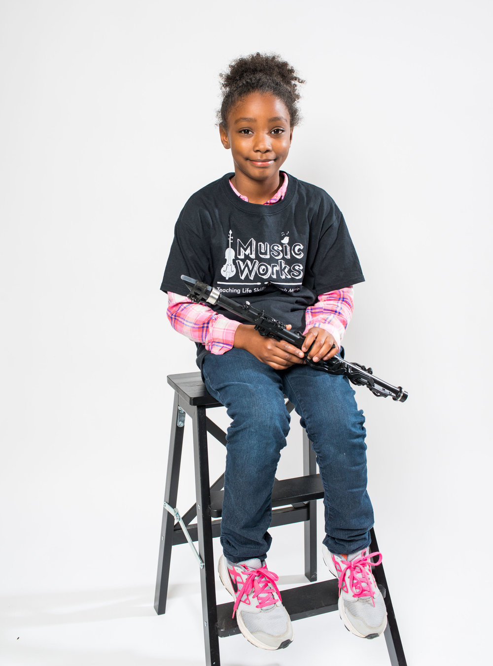 """Making a Difference - """"MusicWorks has had such a positive impact on my family. Sierra has just begun her 4th year in the program and is excelling both with her musical abilities and also with her schoolwork, which I do not find to be a coincidence.""""Brea Mother of Sierra and Oliver"""