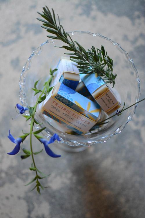 Prairie Flower Soap With Herbs