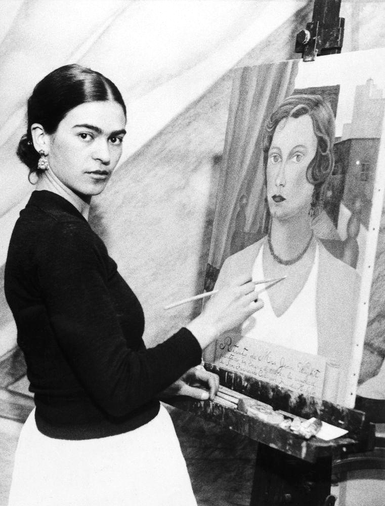 Frida Kahlo de Rivera was a Mexican painter who is best known for her self-portraits.