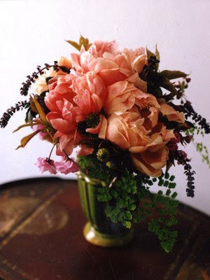 Apricot Peonies