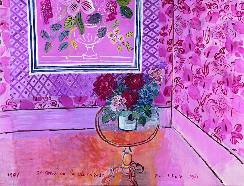 Floral painting by Raoul Dufy 1931