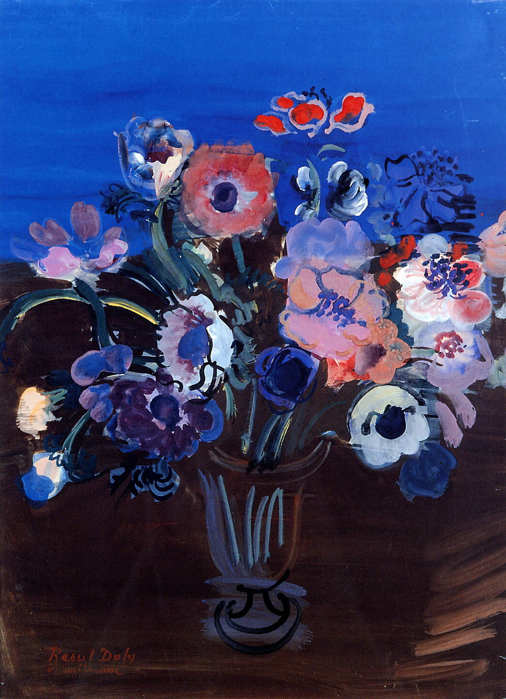 Anemones by Raoul Dufy