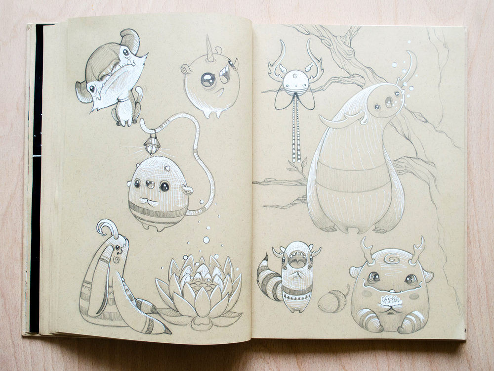 TOMODACHIISLAND_SKETCHBOOK
