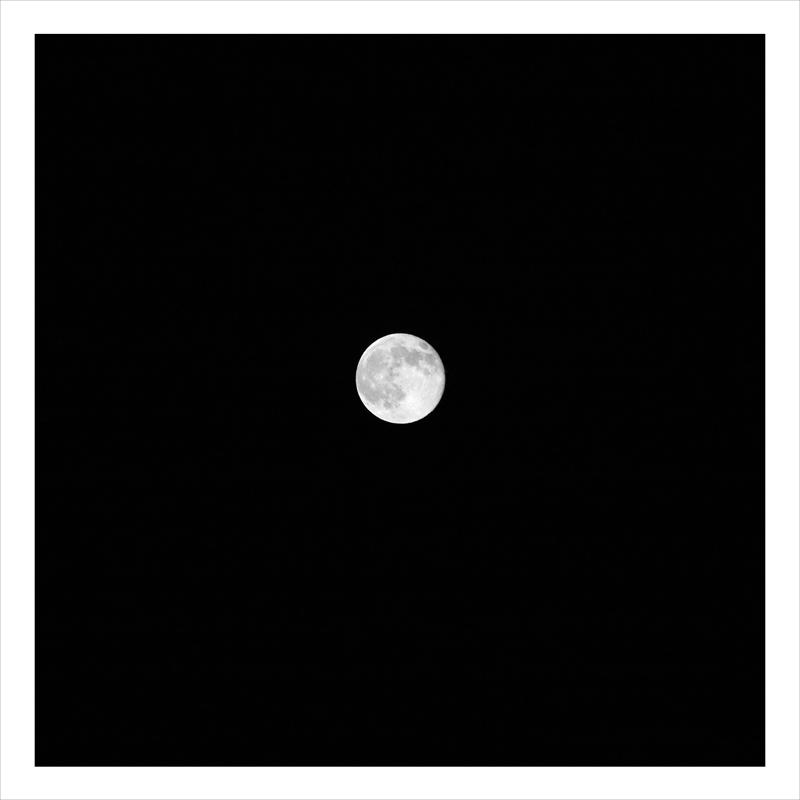 Lassen full moon