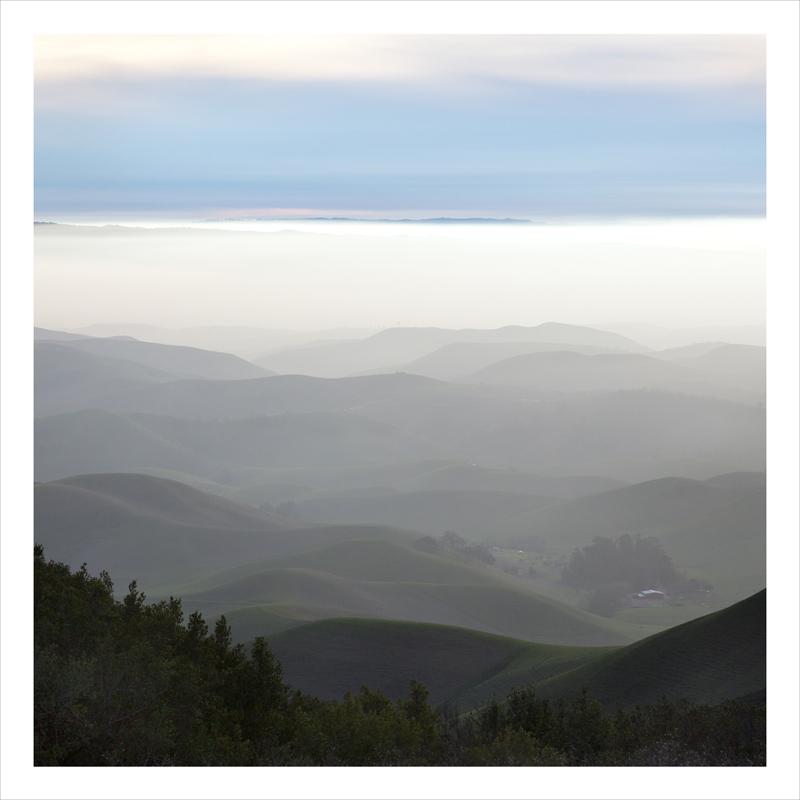 valley fog, California