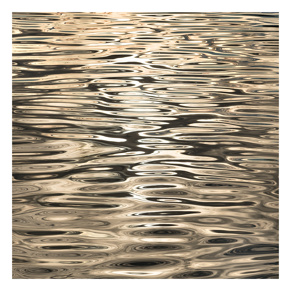 Sacramento River, gold reflection