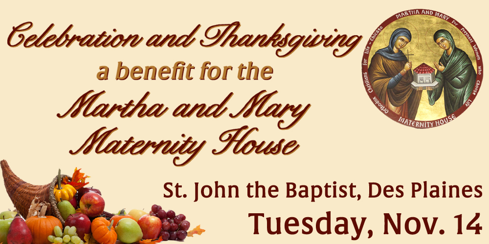 Celebration & Thanksgiving for the Martha & Mary Maternity House