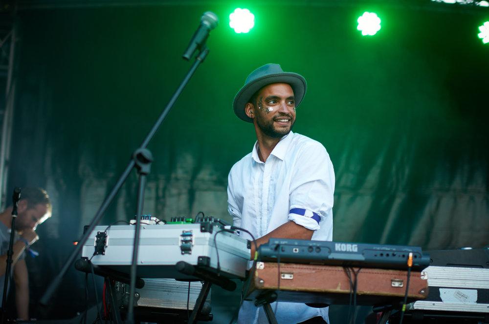 Rashad Gregory - The Electric Swing Circus