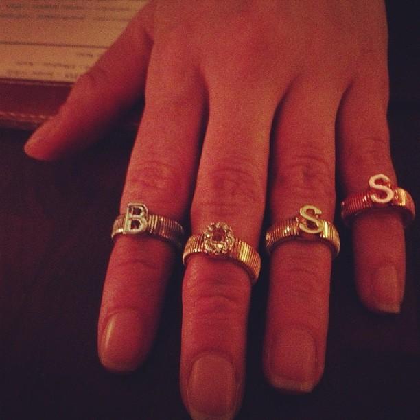 Boss Lady BFF #erusso06 #celestemichelle#midi rings