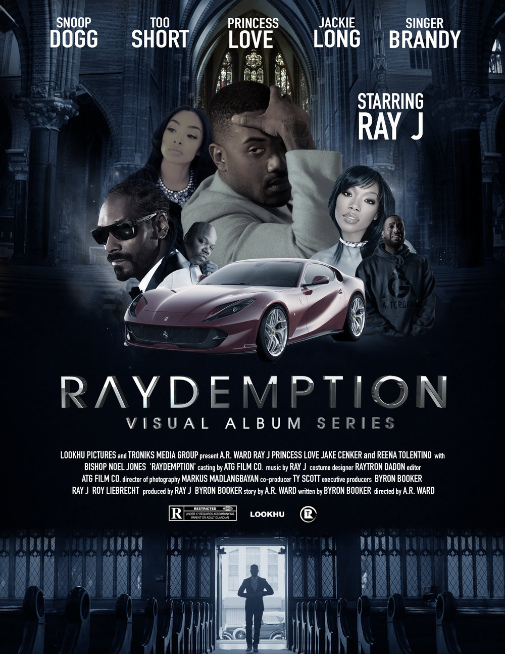 I designed a Movie poster for the Ray J visual album film of which I was the Director of Photography.