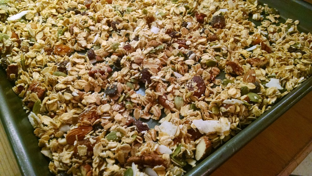 Photo links to a few of my favorite granola recipes provided by Elizabeth Rider